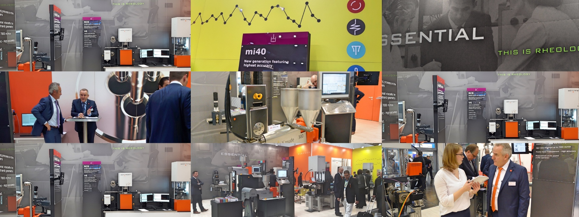 Industrial Design, Messestand und neues Image.